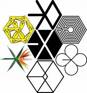 """EXO Logos"" Stickers by KaizeW167 Redbubble"