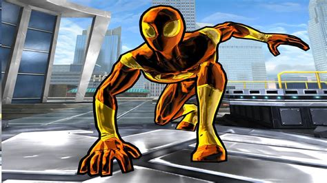 Spiderman Unlimited Iron Spider Suit Youtube