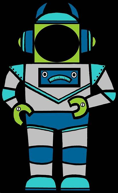 Robot Classroom Clipart Clip Space Robots Bulletin