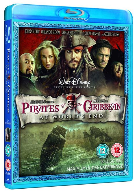 Bluray Pirates Of The Caribbean At Worlds End Blu Ray