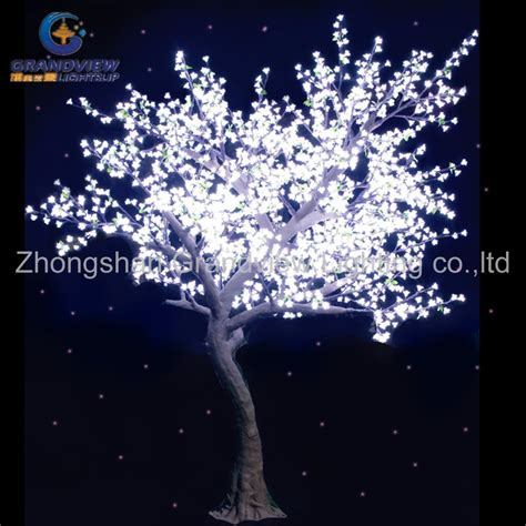 1 8m white color nature looking autumn led maple tree