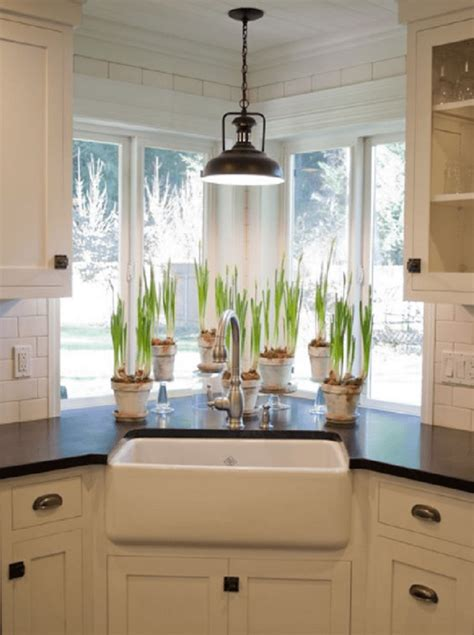 recommended ideas  corner kitchen sink design reverb