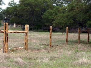Cedar Post Fence Designs