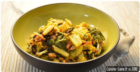 cuisine saine et bio recette bio rapide omelette aux blettes cuisine