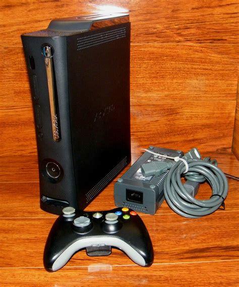 xbox 360 console 120gb microsoft xbox 360 elite 120 gb matte black console ntsc