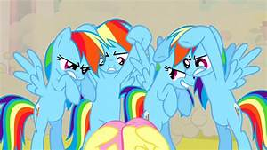 Image - Real Rainbow Dash ready to kick S2E26.png | My ...