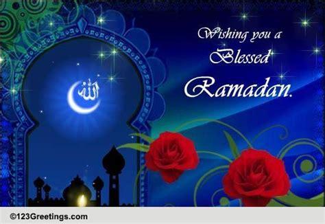 blessed ramadan  ramadan mubarak ecards