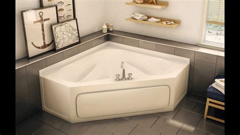 bathroom corner bathtubs  small bathrooms youtube