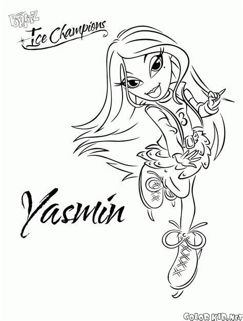 sta lol da colorare disegni da colorare bambola yasmin