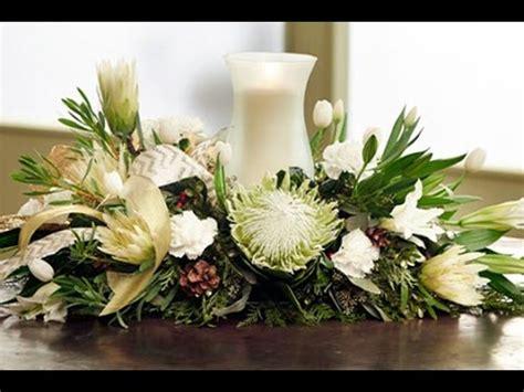 arrange flowers elegant christmas centerpiece youtube