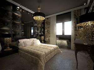 Deco Chambre Moderne : chambre moderne chic ~ Melissatoandfro.com Idées de Décoration