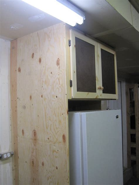 garage freezer cabinet  tradeturnhobby  lumberjocks