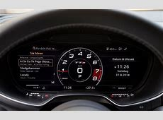 Review Audi TT's Virtual Cockpit is the future of dashboards