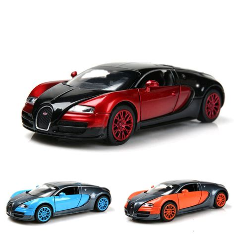 1 32 bugatti veyron alloy diecast car collection light sound kid vans ebay