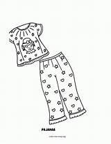 Coloring Pajama Pajamas Template Pj Masks Adults Pdf Coloringhome Popular sketch template