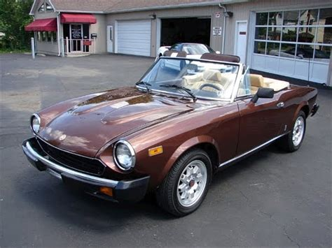 1980 Fiat Spider For Sale by Featured Cars For Sale 1980 Fiat Spider 2000 Classic