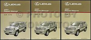 2007 Lexus Gx 470 Wiring Diagram Manual Original