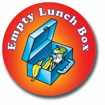 Lunch Empty Box Stickers Healthy Hover Enlarge