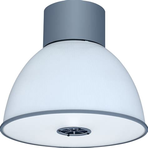 led high bay fixture delivers strong uplight low glare