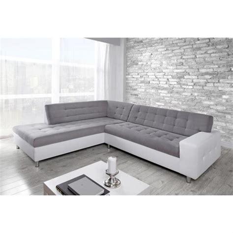 canapé d angle blanc pas cher photos canapé d 39 angle gris et blanc pas cher