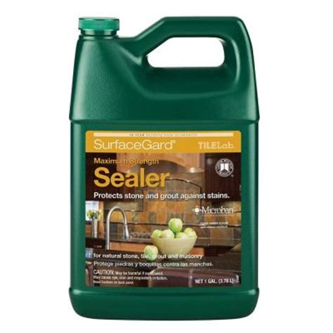 Saltillo Tile Sealer Home Depot by Custom Building Products Tilelab Surfacegard 1 Gal