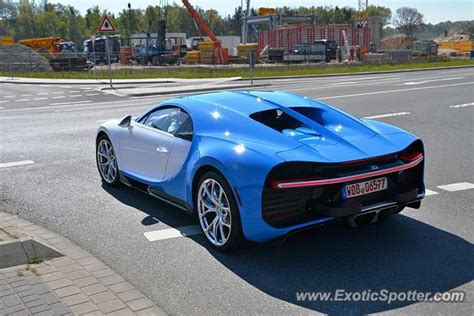 Bugatti That Changes Colors by Bugatti Chiron Spotted In Vorsfelde Germany On 05 02 2016