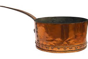 Antique French Copper Pan