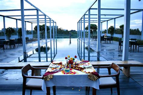 Poolside Dinner by Image