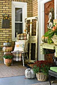 40, Best, Fall, Porch, Decorating, Ideas, And, Designs, For, 2020