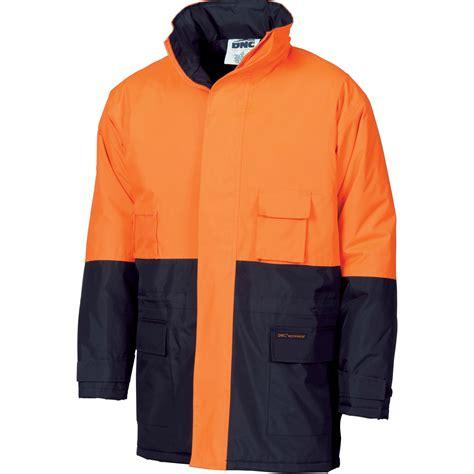 HiVis two tone parka - 3766 - DNC Workwear | SKG Uniforms