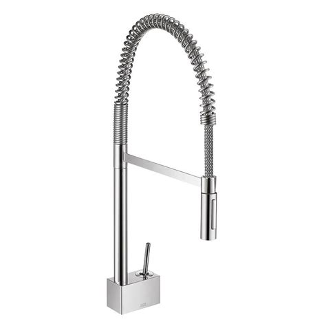 Hansgrohe Metro Higharc Kitchen Faucet Soap Dispenser by Hansgrohe Nickel Pull Faucet Nickel Hansgrohe Pull