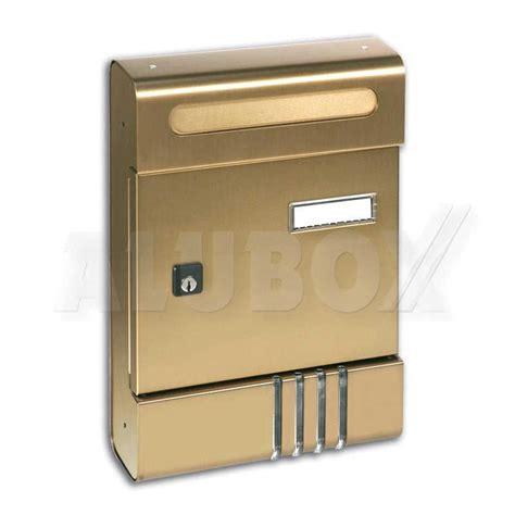 Cassette Alluminio by Cassette Postali Alubox Alluminio Serie Se Bronzo