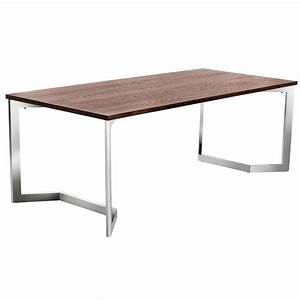 stainless steel base dining table home design With dining table with stainless steel top