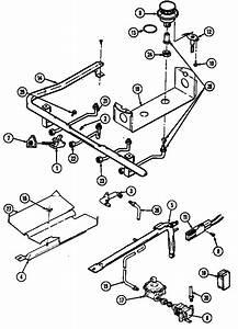 Gas Controls Diagram  U0026 Parts List For Model 3468xrw Magic