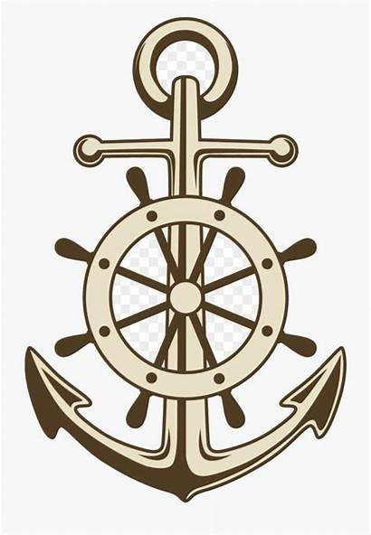 Wheel Anchor Ships Ship Clipart Clip Vector