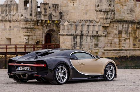The net price will be three million euros. Bugatti chiron gold   Сars Blog