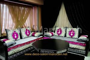 beautiful salon marocain moderne avecprix images amazing With tapis oriental avec canape ikea moins cher