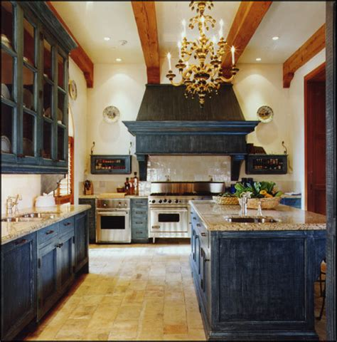 blue kitchen cabinet kitchen cabinets the color of blue hooked on houses 1729