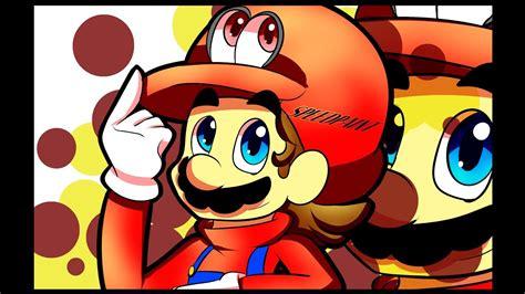 Speedpaint Of Super Mario Odyssey Fan Art Youtube