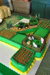 John Deere Farm Tractor Cake
