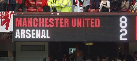 BBC Sport - Man Utd 8-2 Arsenal