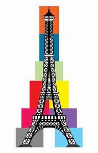 Colorful Cartoon Eiffel Tower - ClipArt Best