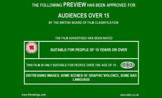 Green Movie Preview Rating Screen