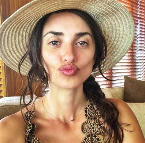 Dive Senza - penelope bellissima anche senza trucco i selfie