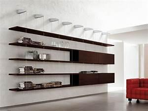 Bibliothèque Murale Design : biblioth que suspendue murale et design pour vos livres ~ Teatrodelosmanantiales.com Idées de Décoration