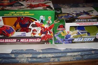 Mega Mecard Turning Teryx Dragon