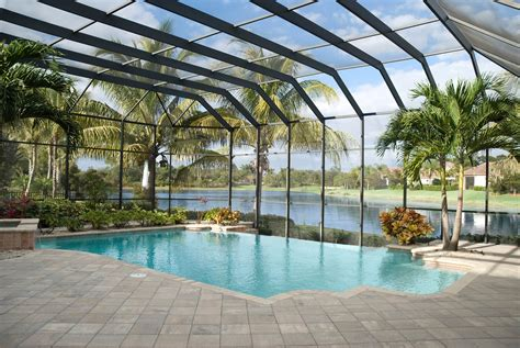 pool enclosure quality hardscapes porch masters
