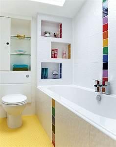 Couleur Mur Salle De Bain : couleur salle de bain en 55 id es de carrelage et d coration ~ Dode.kayakingforconservation.com Idées de Décoration