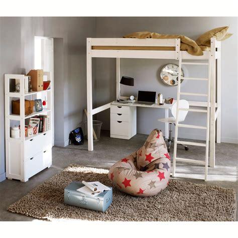 chambre ado avec lit mezzanine idée déco chambre ado avec mezzanine raliss com