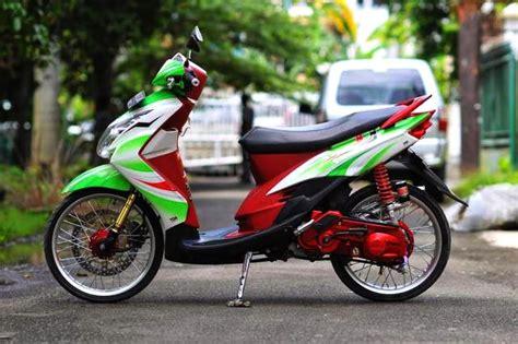 Modifikasi Mio Sporty Terbaru by 100 Gambar Motor Modifikasi Mio Sporty Terbaru Gubuk